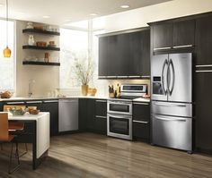 KitchenAid® Architect® Series II 4-Door French Door Refrigerator | House & Home