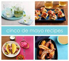 Cinco de mayo recipes: Bobby Flay's Mojito Limeade, Thai Beef Nachos, Bobby Flay's Red Chile Short Rib Tacos, Churros with Coconut Sauce