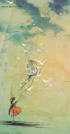 Fly me away...  {by Olena S.}
