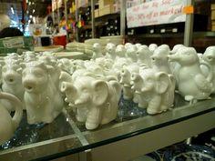 Animal creamers at Pearl River Mart