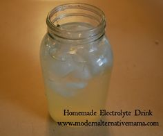 Recipe Collection: Electrolyte Drink (Sports Drink Replacement) | Modern Alternative Mama