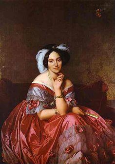 Baroness Betty de Rothschild by Jean Auguste Dominique Ingres, 1848