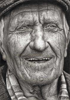 No, this is not a photograph. This stunning pencil drawing by 16 year old Shania McDonagh was the winning entry in the 2014 Texaco Children's Art Competition