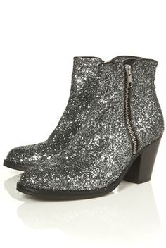 AMBUSH Glitter Ankle Boots - Boots - Shoes - Topshop USA - StyleSays