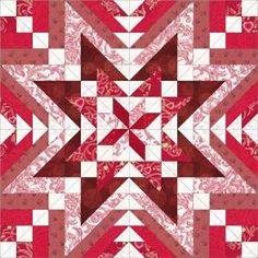 quilt design, grand design, serendip star, star quilts, block design, quilt blocks, serendipitystar400jpg 400400, white block, star red