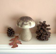 Alice in Wonderland decor XXL mushroom woodland by astashtoys, $50.00