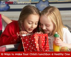10 Ways to Make Your Child's Lunchbox a Healthy One - The Mom Initiative
