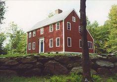 LIBERTY POST: Saltbox Houses