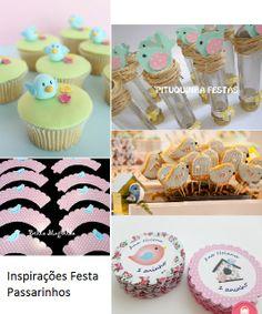 inspirações festa passarinhos