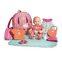 4th birthday, american dolls, baby dolls, 3rd birthday, holiday gifts, brown hair, bitti babi, eye, american girls