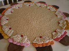 toalha de cupcake
