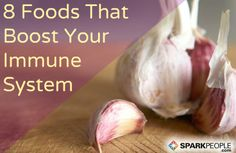 Stay healthy this winter: 8 Foods that Strengthen Your Immune System to Fight Colds and the Flu | via @SparkPeople #food #diet #nutrition #health