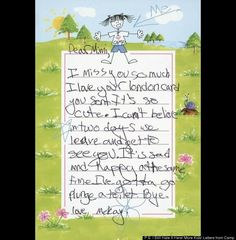Haha - Funny letters from kids at camp to family back home.  #funny #kid #notes #letters
