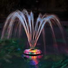 The Floating Light And Water Show - Hammacher Schlemmer.  Love this!