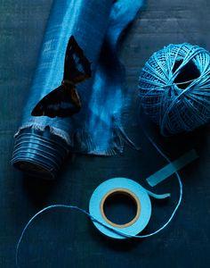 indigo blue..