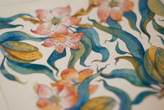 Watercolor Tale Illustrations by Tetiana Kartasheva, via Behance