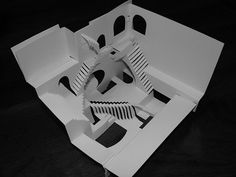 M.C. Escher In Origami | Mighty Optical Illusions, repinned Heather Medes