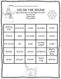 Winter Warm-Up Word Work