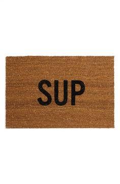 SUP door mat