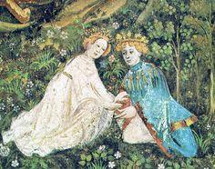 resplend art, medievalmiddl age, art ii, mill fleur, the eagles, mediev myth, thing mediev, floral wreaths