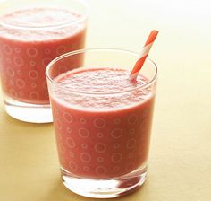 A simple shake for a quick breakfast or post workout snack.