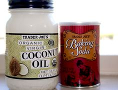 Once a week use a scrub of baking soda and coconut oil. A pinch of soda and a bit of coconut oil the size of a pencil eraser. Wash in gentle, circular motions, rinse very well, and gently pat dry. Your face may seem oily afterward, but within a few minutes the oil is absorbed and your skin is glowing. If needed, add more coconut oil after for added moisture.