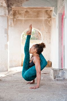 Strong yoga!