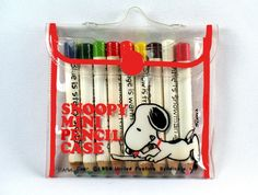 Snoopy Mini Pencils  - I had some of these!