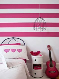 painting ideas for interior decorating with gray stripes on ... | pai…