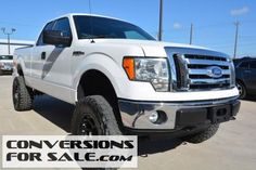 2011 Ford F-150 XLT Lifted Truck