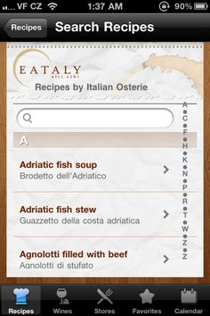 #Eataly--> http://itunes.apple.com/us/app/eataly-the-recipes/id388623320?mt=8