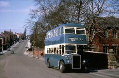 Preston Corporation Bus No.48. Black Bull Lane, Fulwood
