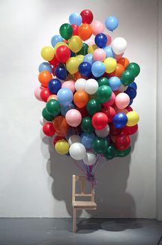 balloon bunch.