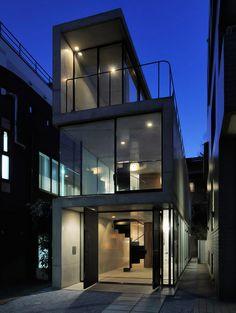 House in Takadanobaba by Forian Busch Architects. via DesignBoom