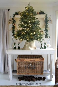 Paint Me White: Christmas Tree Love Balsam Hill