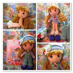 By Hook, By Hand    A place to share and discuss cloth and crochet dolls made by hand.