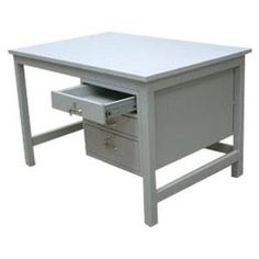 Another tutorial on how to paint a metal desk