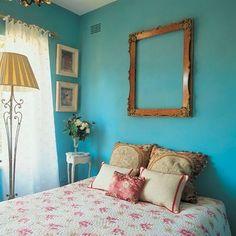 Quartos decorados com azul - Reciclar e Decorar