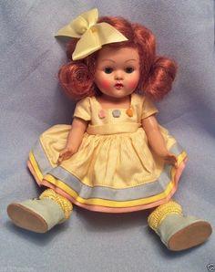 "VINTAGE VOGUE GINNY Doll, ORIGINAL ""PAT"" (1953) #31 KINDERGARTEN SCHOOL SERIES"