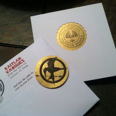 DIY Hunger Games Invitations