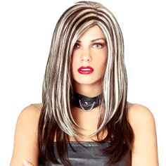 Bleach Blonde Hair With Brown Streaks Images & Pictures - Becuo