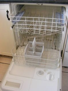 Giving your dishwasher a good clean