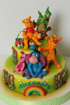 viorica's cakes: Winnie si prietenii lui pentru Alexandru