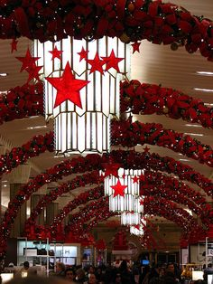 Macy's Christmas decorations, NYC