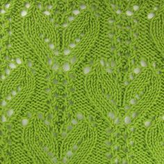 Another fabulous lace pattern.  Japanese Alternating Stems found in the Japanese Lacy category.  @Af's Collection