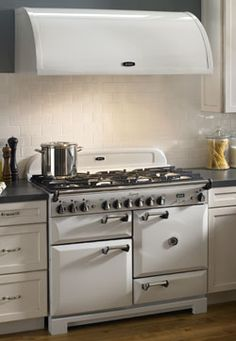 Maybe we'll never be able to afford an AGA range, but the range hood has got to be a more accessible dream. . . right?