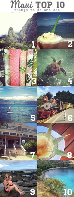 Maui Top 10 things to do and see