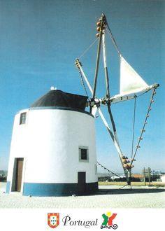 Moinho de Vento, Portugal. Sent to Finland.