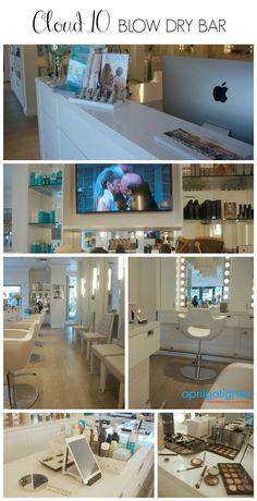 Cloud 10 Blow Dry Bar & Makeup Salon Review Delray Beach, Florida