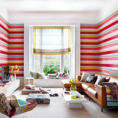love these colourful stripes